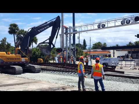 Lantana Road Crossing Reconstruction, 5-10-16