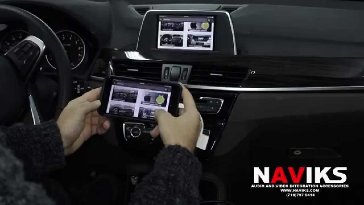 2015 Bmw X1 F48 Naviks Hdmi Video Interface Added Iphone