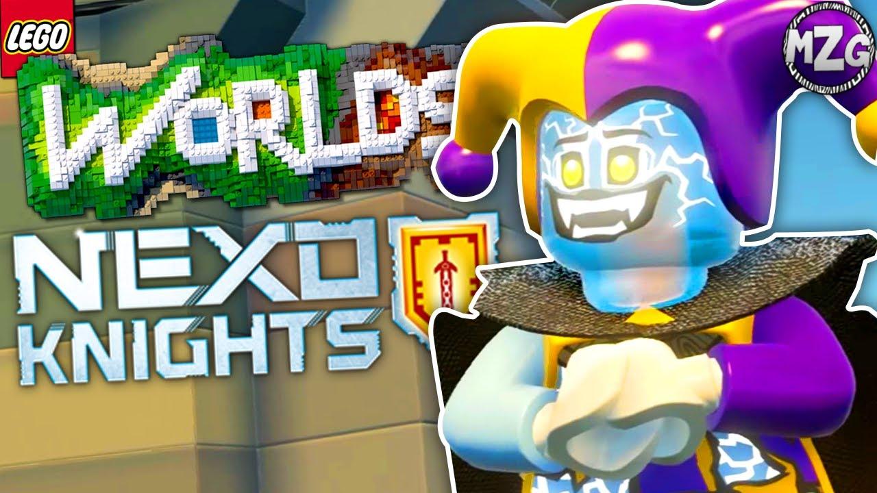 lego nexo knights dlc lego worlds ps4 gameplay youtube. Black Bedroom Furniture Sets. Home Design Ideas