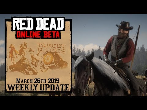 Red Dead Redemption 2 Online Update - March 26th 2019 thumbnail