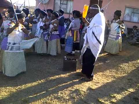 Umgidi wentonjane - Xhosa Tradition