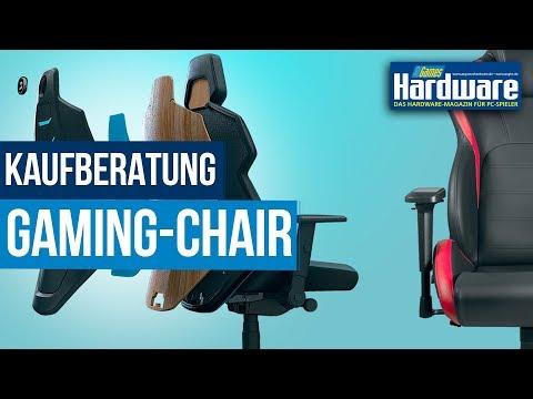 Gaming-Stuhl / Gaming Chair Kaufberatung 2020   Die besten Tipps zum ergonomischen Sitzen