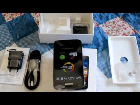 Unboxing Samsung Galaxy S2 LTE