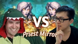 (Hearthstone) Kibler VS Amaz: Quest Priest Mirror