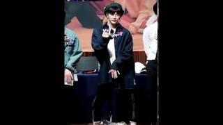 180422 워너원 강다니엘 팬싸인회 kang daniel fansign event ; 뿜뿜 boomboom dancing