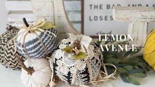 Simple DIY fall pumpkins | farmhouse decor | dollar tree | target | joann | hobby lobby