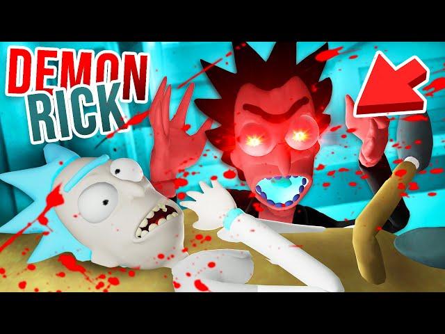 Rick's evil DEMON CLONE just KILLED RICK SANCHEZ!!?! (Rick and Morty VR Mods)
