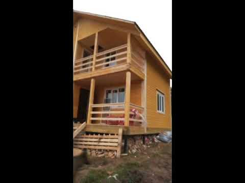Отзыв заказчика. Построили большой дом из бруса по индивидуальному проекту