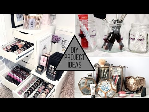 2019 DIY Makeup Storage Ideas for Your Makeup Collection thumbnail