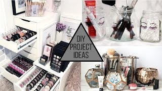 2019 DIY Makeup Storage Ideas for Your Makeup Collection
