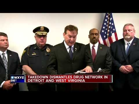 Takedown Dismantles Drug Network In Detroit And West Virginia
