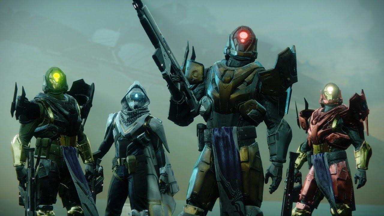 Destiny 2: Curse of Osiris Pacifica Titan Map Gameplay