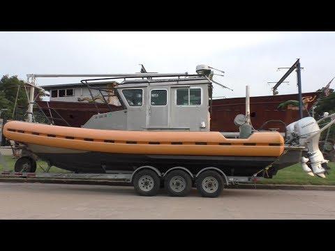 Coast Guard Patrol Boat to Chinese Junk Motorsailer Conversion