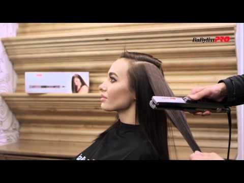 Видео утюжок для волос с паром BaByliss PRO BAB 2191 SEPE UltraSonic бебилис про ультрасоник