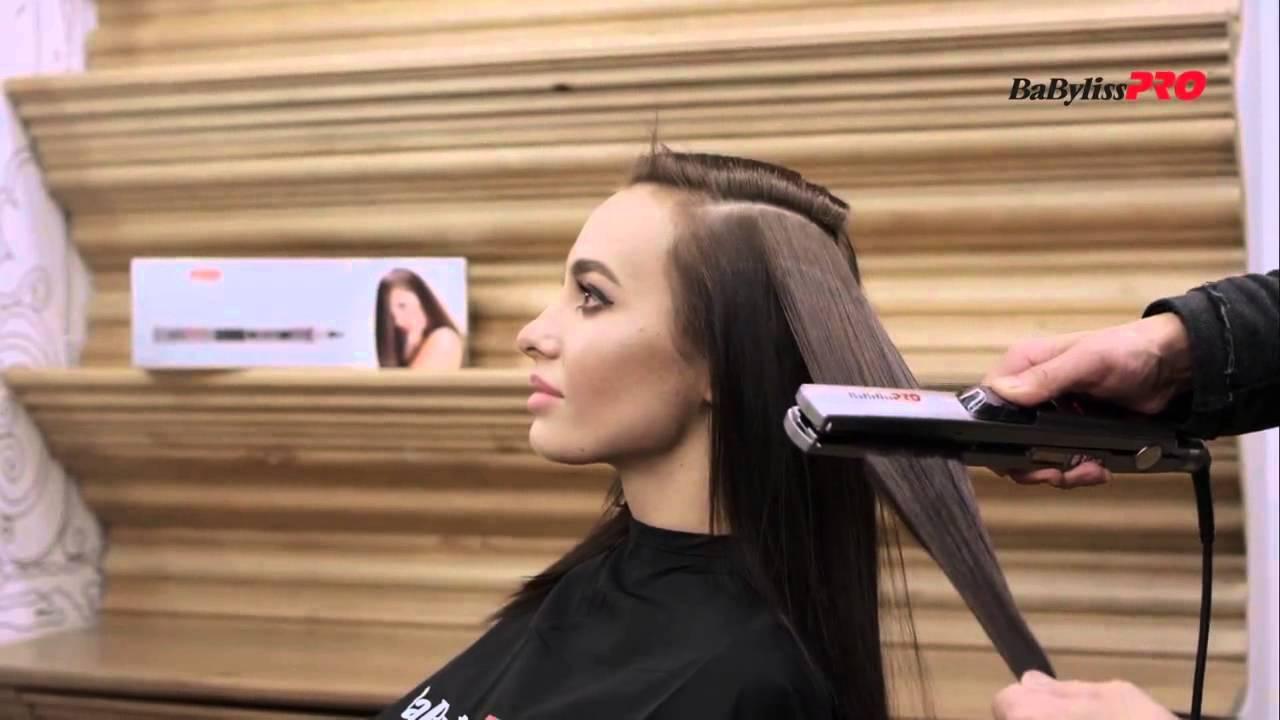 Утюжок для волос babyliss с паром