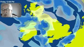 Michael Fish: West Vs  East - Snow Likely