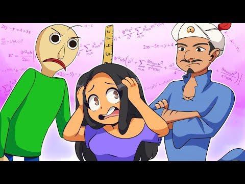 AKINATOR TAKES ON BALDI - WHO IS SMARTER?!