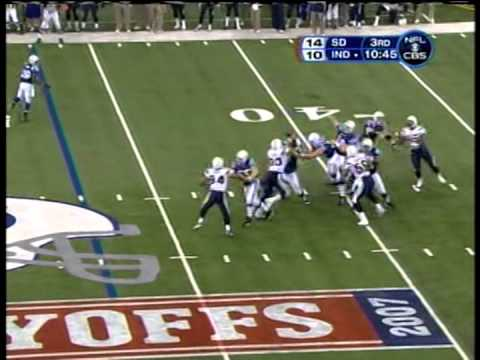 Chargers vs. Colts, AFC Playoffs, 2008