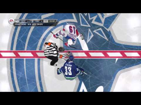 Stanley Cup Final: Canucks 4-1 Rangers (NHL 12 Gameplay)