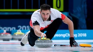 Mixed Doubles Curling Key Ends: CAN vs. USA
