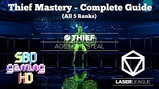 Laser League - Thief Mastery Complete Guide (All 5 Ranks) (First Class/All-Rounder Guide)