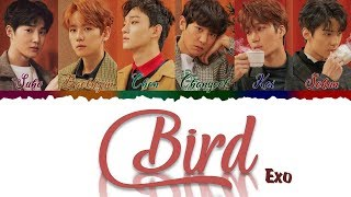 Gambar cover EXO (엑소) - BIRD (Color Coded Lyrics Kan/Rom/Eng/歌詞)