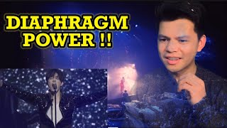 NURSE REACTS TO DIMASH | OLIMPICO | FIRST TIME HEARING HIM SINGS A CONTEMPORARY ROCK  TYPE MUSIC