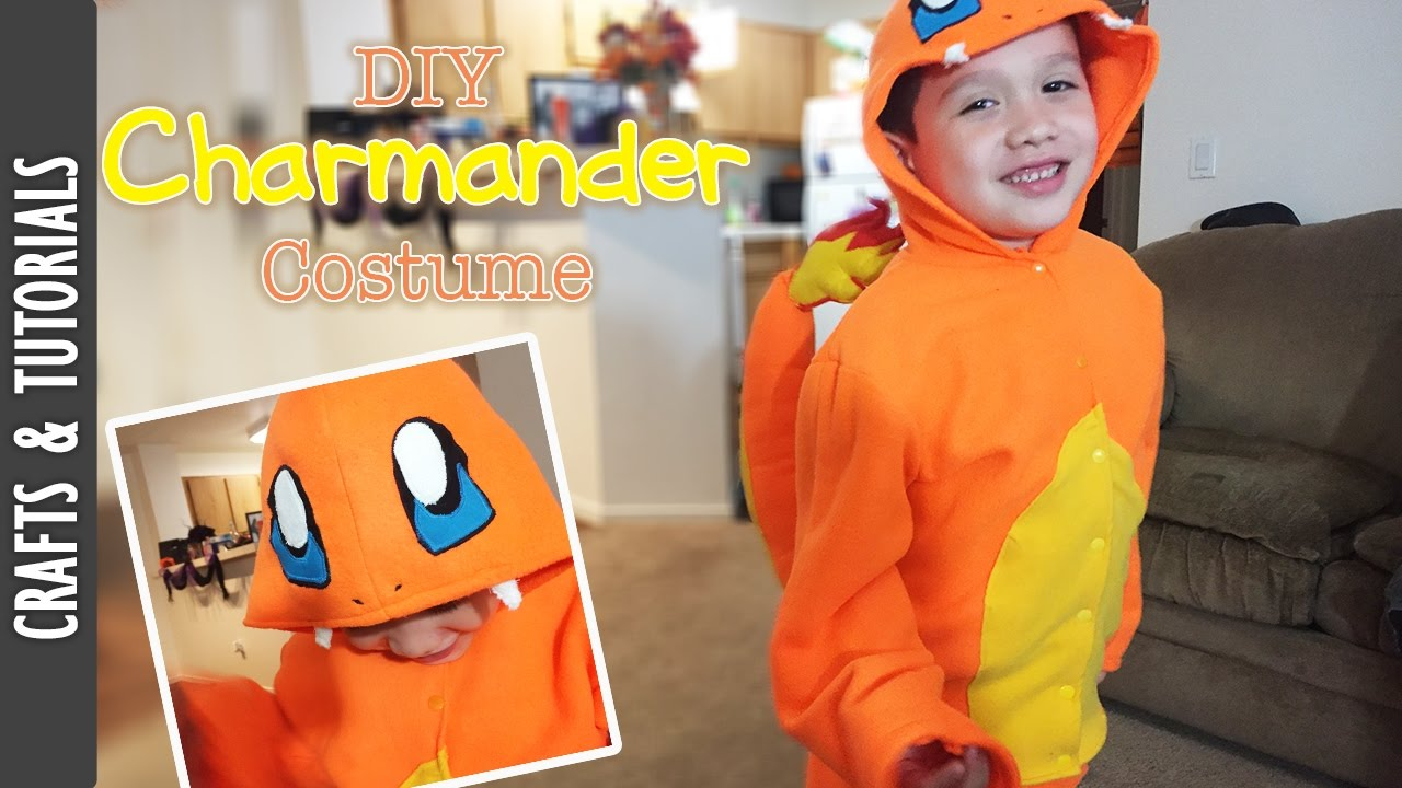 Diy charmander costume pokemon the290ss youtube solutioingenieria Images