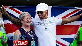 Who is Lewis Hamilton's mum?