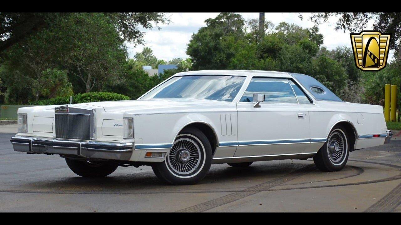 1978 Lincoln Continental Mark V Gateway Classic Cars Orlando #603 ...
