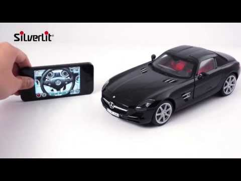 Bluetooth R/C Music Streaming Mercedes Benz SLS AMG