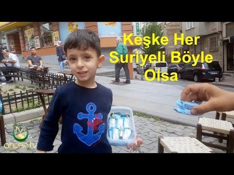 Suriyeli Çocuktan İbreklik Hareket