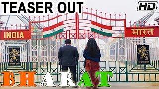 Bharat Movie Teaser Out Now | Salman Khan | Katrina Kaif | Ali Abbas Zafar