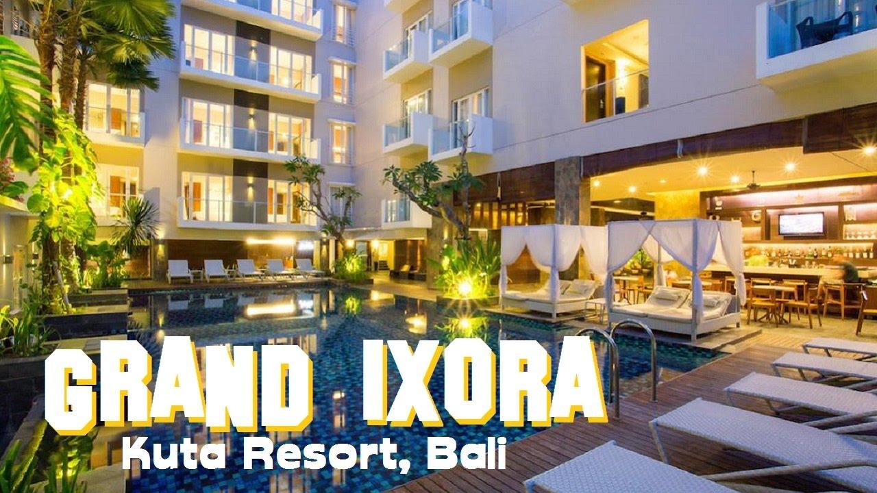Hotel Di Jantung Kuta Grand Ixora Kuta Resort Tur Cokelat Bali
