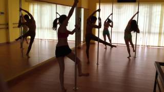 Pole Dance Indonesia - JUNKO XPert Pole instructor Indonesia