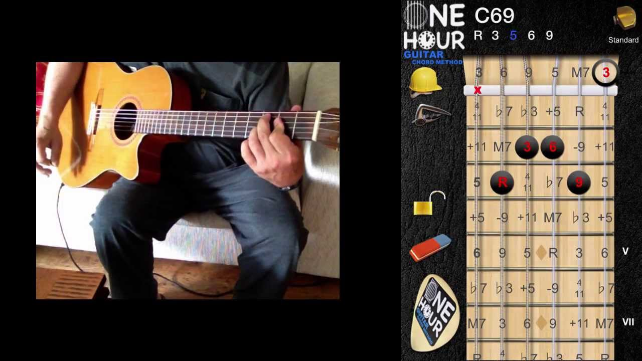 Misty Fingerstyle Guitar Tutorial Chord Melody Style Chord Style