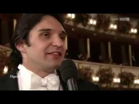 Opernball 2012 -  Interview - Adam Plachetka - Barbara Frittoli - Staatsoper Wien - ORF2