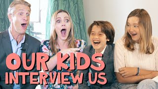 Our Kids Interview Us About Our Book