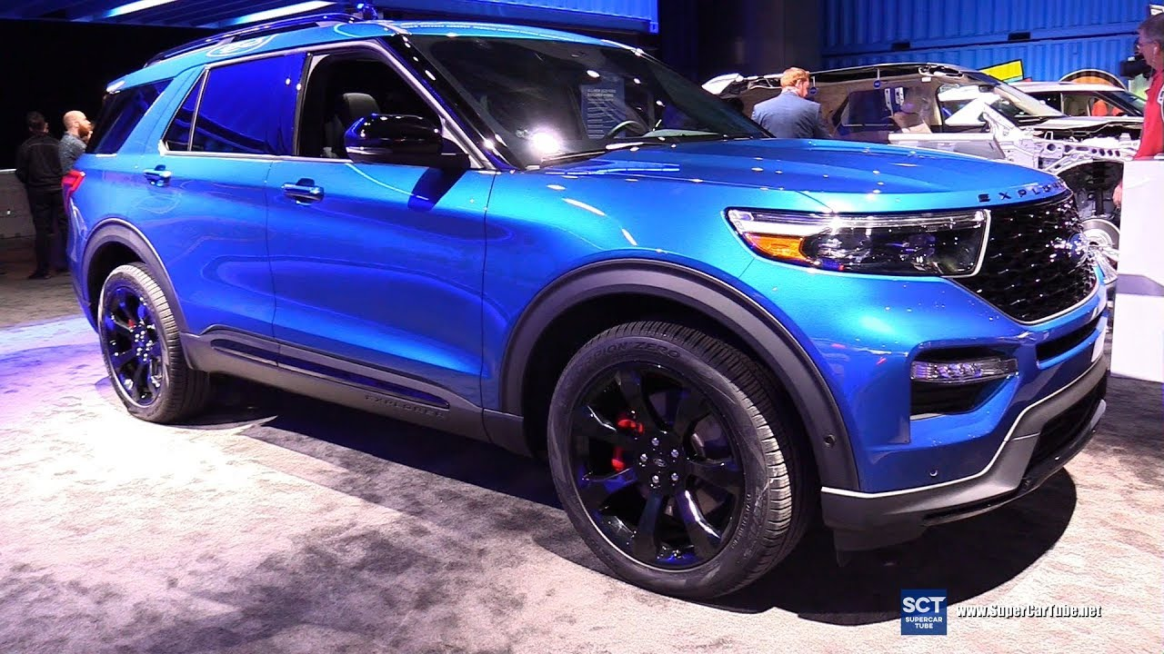 2020 Ford Explorer St Exterior And Interior Walkaround Debut At 2019 Detroit Auto Show