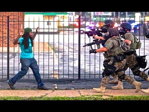 Men Get Shot in the Face - Looting Riots in Ferguson Missouri | Mike Brown St. Louis REBLOP.COM