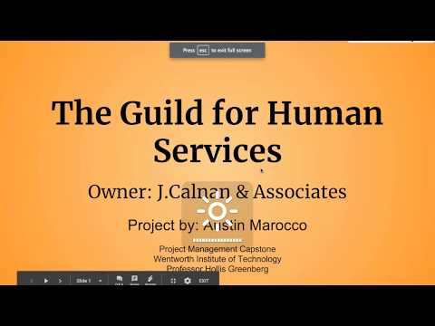 The Guild For Human Services (Part 1)
