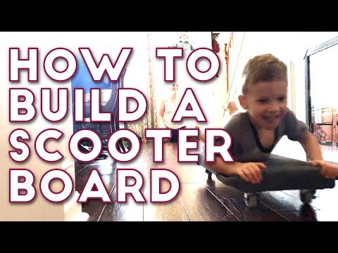 How to Build a Scooter Board for Occupational Therapy | Woodworking / DIY