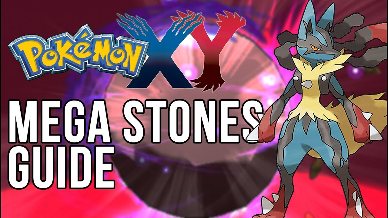 how to get mega stones in pokemon x and y