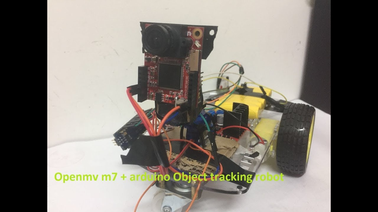 Arduino + Openmv Cam7 ,Object Tracking Robot