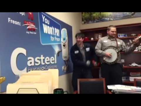 Dancing To Hayden Bramblett Playing The Banjo At Casteel Heating Cooling Plumbing And Electrical