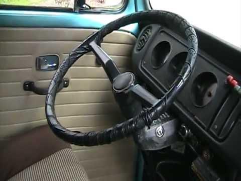 Elegant VW Bus Interior