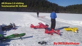 AR.Drone 2.0 visiting Svortavatnet RC Airfield