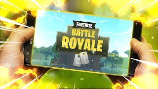 TUTORIAL FORTNITE ANDROID AUF VARIOUS CELL PHONES ANDROIDS 64/32 BITS-DOWNLOAD FORTNITE APK MOD