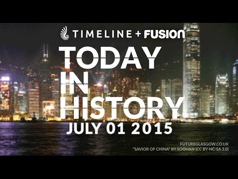 Today in History: Hong Kong marches for democracy