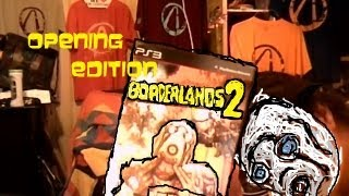 Opening Edition:Borderlands 2 Deluxe Vault Hunter Collectors edition